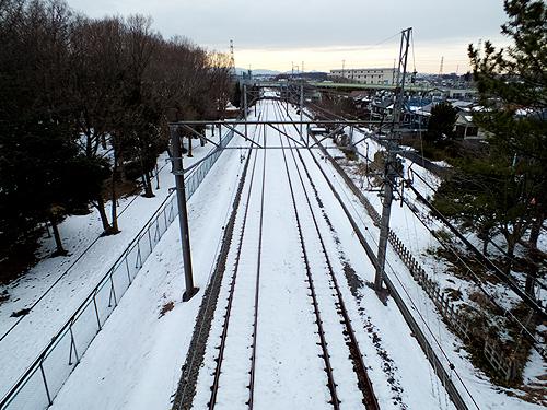 西武多摩湖線の線路