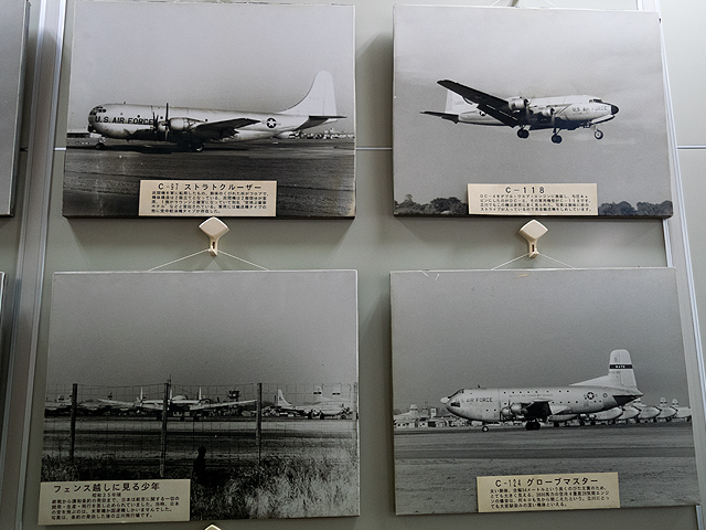 米軍駐留時代の米軍機