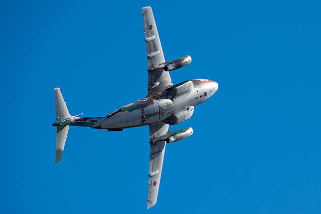 C-1機動飛行