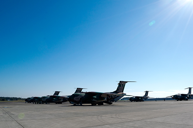 C-1駐機場