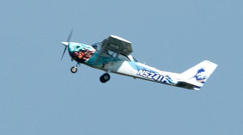 横田基地所属Cessna172