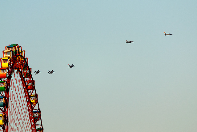 シルバーインパルス飛行訓練