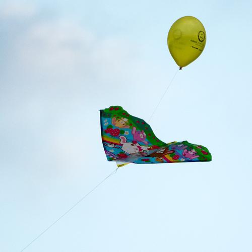 カイト+風船