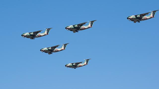 C-1編隊飛行